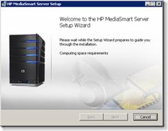 Installing HP MediaSmart Addin