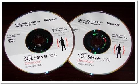 SQL Server DVDs