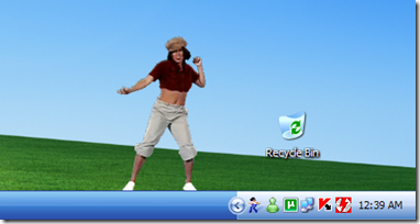 Windows Dancer - Windows XP Media Center Edition 2005