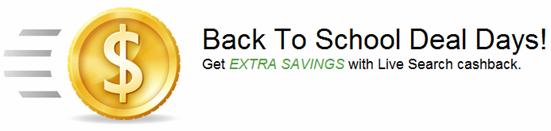 Live Search cashback