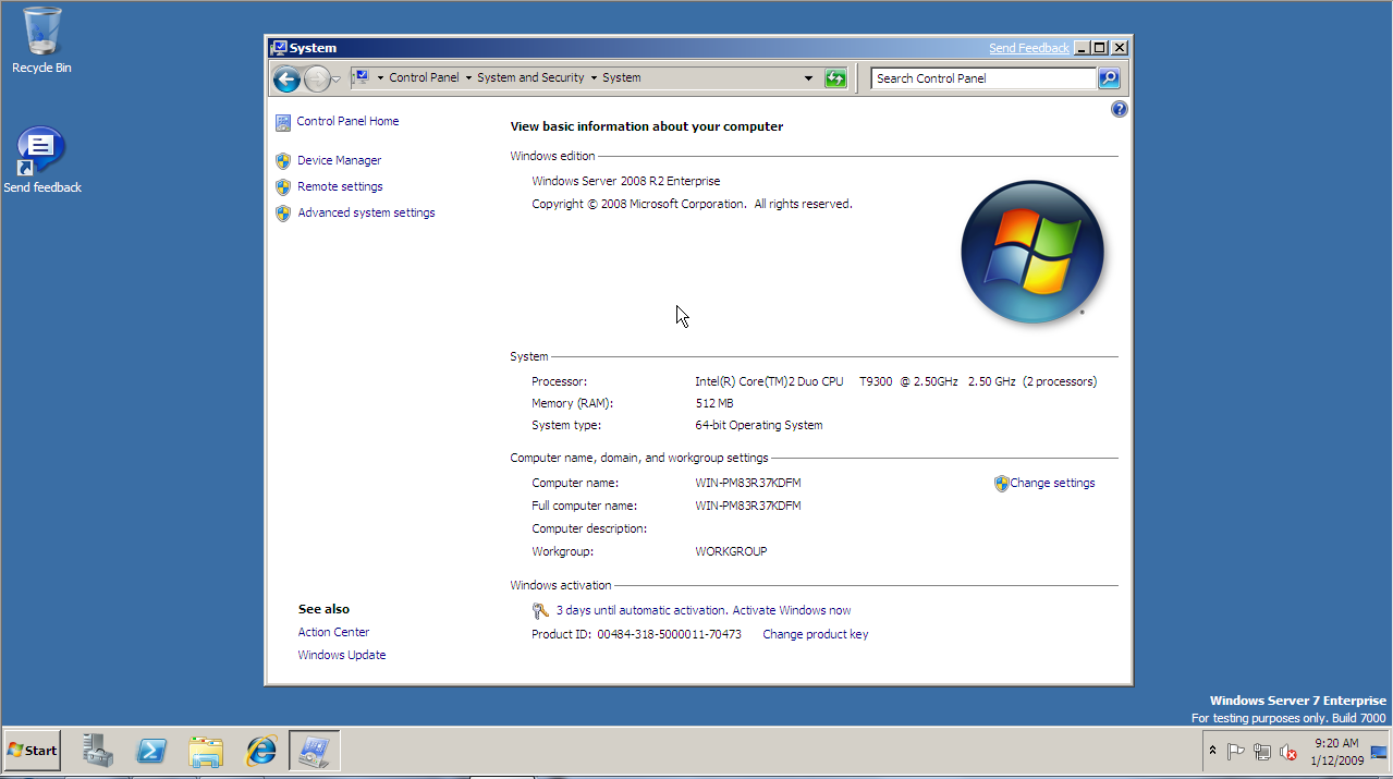 Installing windows server 2008 enterprise edition youtube.