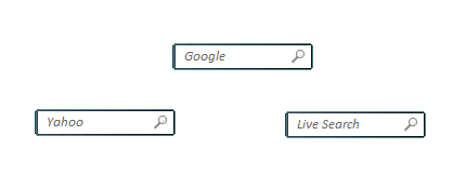 Simple Search Bar Gadget