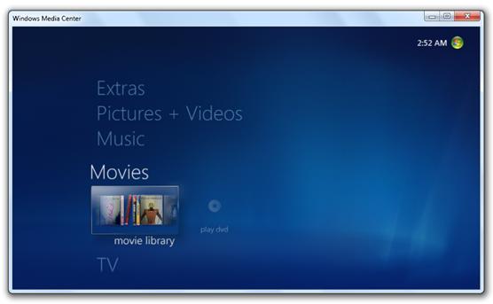 Windows 7 Build 7022 - Media Center (3)