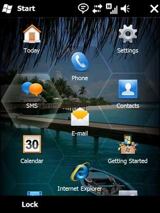 Windows Mobile 6.5 (honeycomb)