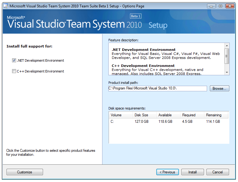 A lap around Visual Studio 2010 and  Net 4 0 Beta 1