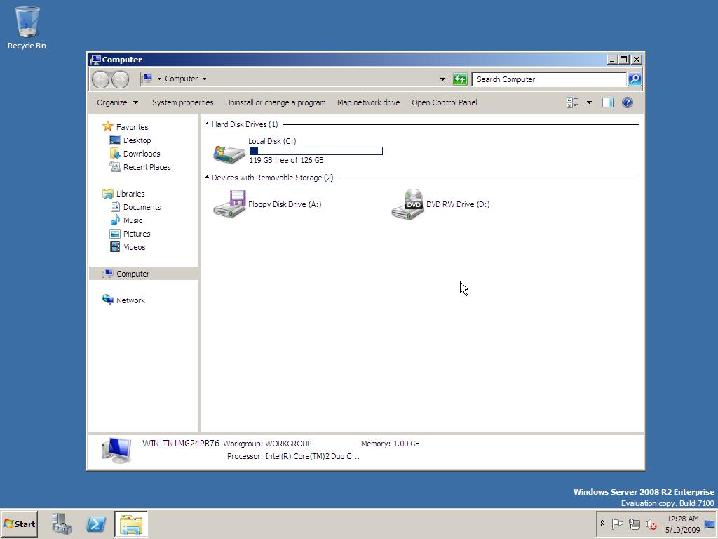 Windows Server 2008 R2 RC – Screenshots Gallery | Redmond Pie