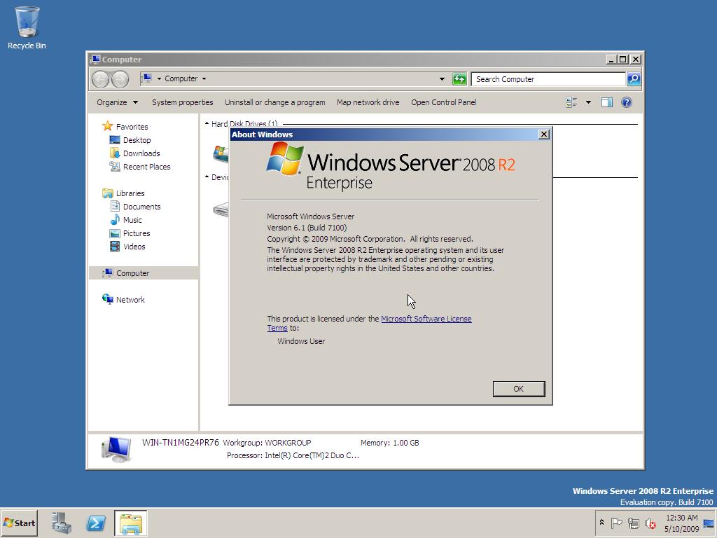 get windows server 2008 r2 product key