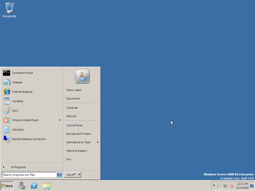 B Windows Server 2008 R2 is the next version of the Windows