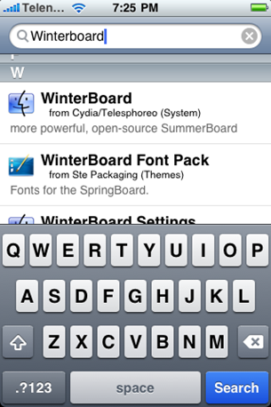 WinterBoard for iPhone