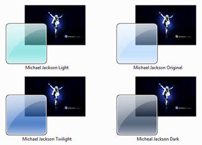 Michael Jackson Themes for Windows 7
