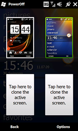 HTC TouchFLO 3D 2.6