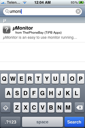 Monitor uTorrent on iPhone