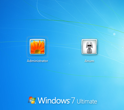 Administrator Account in Windows 7 Ultimate