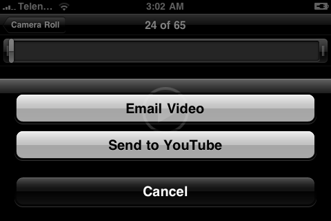 Enable iPhone 3GS Video Editing in iPhone 2G and iPhone 3G