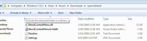How to Open a Project in Expression Blend from Visual Studio
