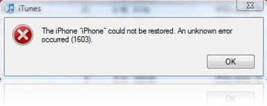 16xx and 21 Error in iTunes during iPhone 3.1 Restore