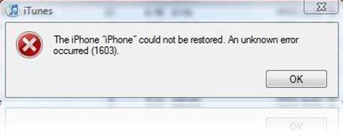 16xx and 21 Error in iTunes during iPhone 3.1 Restore