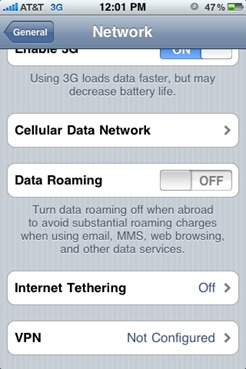 AT&T Tethering and MMS on iPhone 3.0