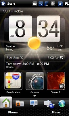 HTC TouchFLO 3D 2.5 from HTC HD2 (Leo)