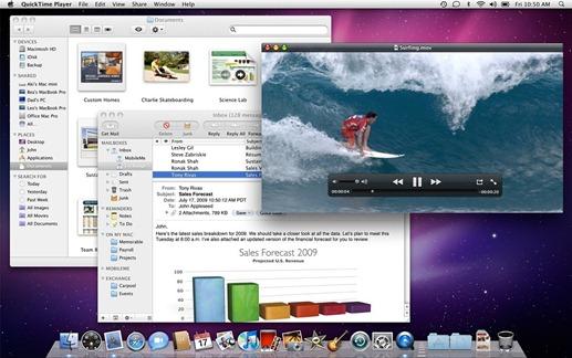 Mac OS X Snow Leopard 10.6.1