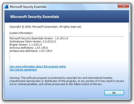 Microsoft Security Essentials (4)