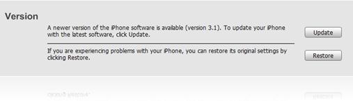 Update/Restore iTunes