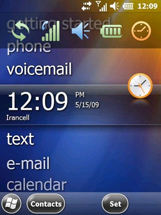 Windows Mobile 6.5 Build 23041