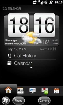 Windows Mobile 6.5 Build 23053