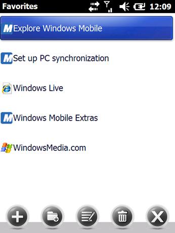 Windows Mobile 6.5 Build 23420