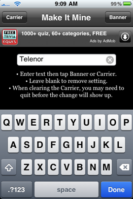 Fix for Missing Carrier Logo on iPhone 3.1.2
