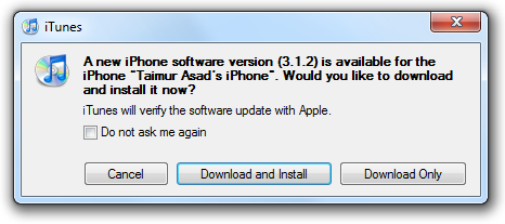 iPhone OS Firmware 3.1.2