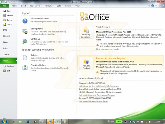 Office 2010 Beta 2 Build 14.0.4514.1009