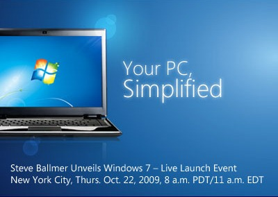 Windows 7 Launch