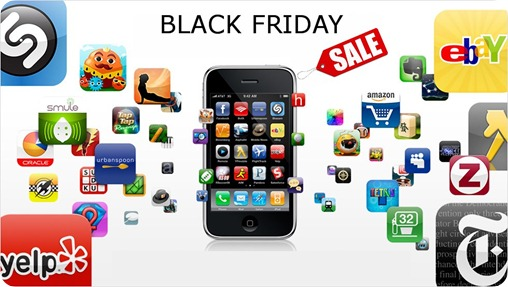 Black Friday Online Deals on iPhone Apps and Games
