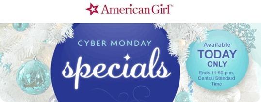 American Girl Cyber Monday
