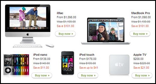Black Friday Online Shopping Deals at Apple Store