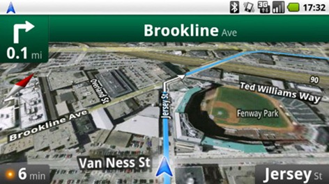 Google Maps Navigation on G1