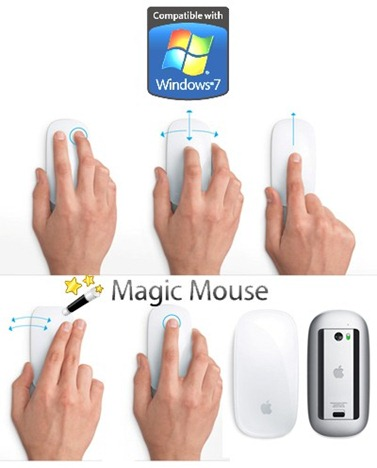 Apple Magic Mouse Works on Windows 7 | Redmond Pie