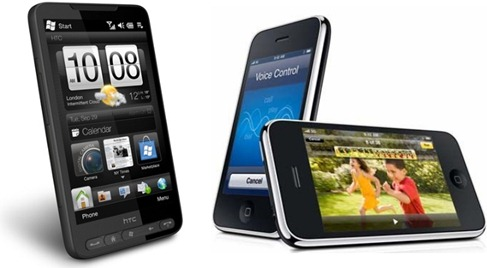 HTC HD2 or iPhone 3GS