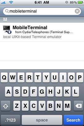 MobileTerminal