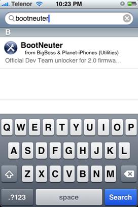 BootNeuter