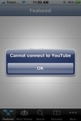 Youtube Fix for iPhone 3.1.2 blacksn0w Unlock