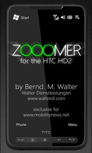 Zoomer for HTC HD2