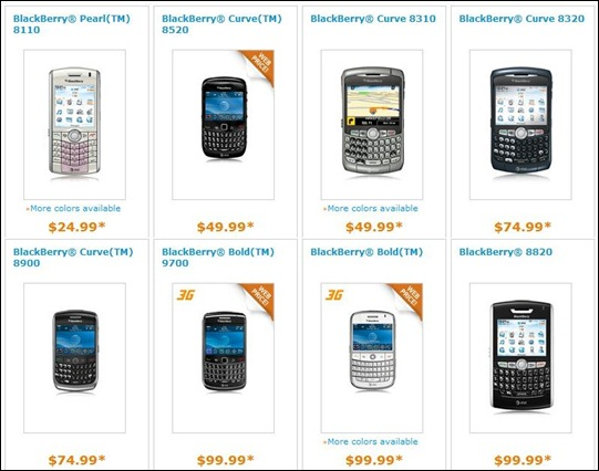 AT&T BlackBerry