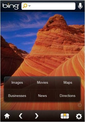Bing App for iPhone