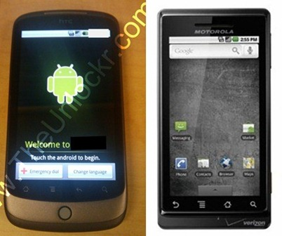 Nexus One vs Motorola Droid