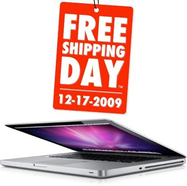 Free Shipping Day 2009 Deals on MacBook Pro