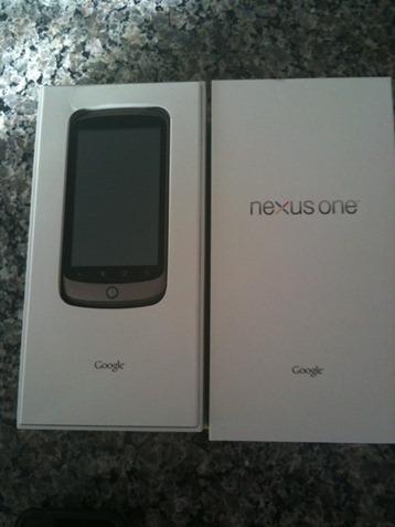 Google Nexus One Unboxing
