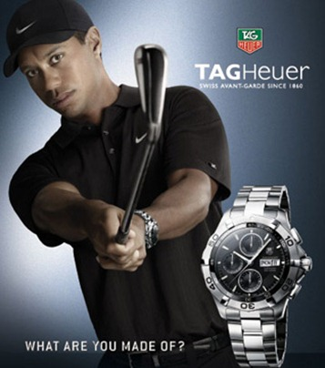 Tiger Woods Tag Heuer Ad