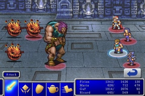 Final Fantasy on iPhone